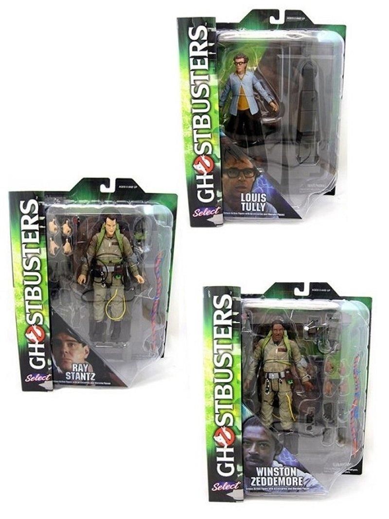 Diamond Ghostbusters Select Actionfiguren 18 Cm Serie 1