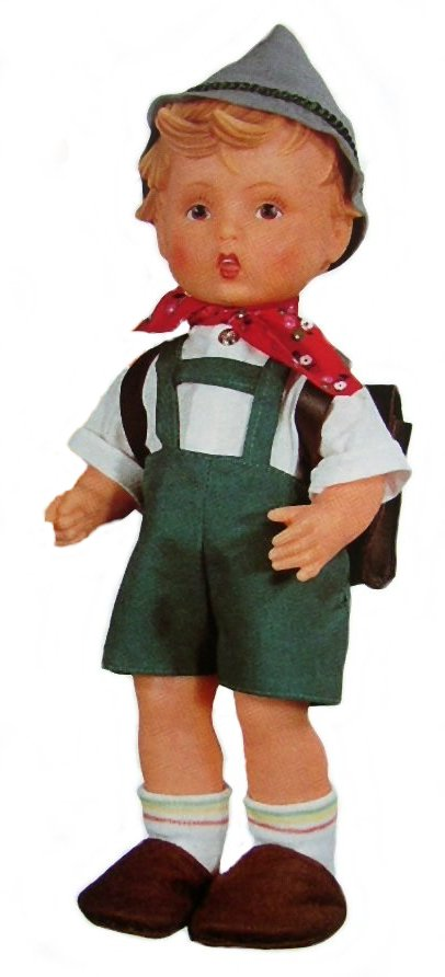 M I Hummel Doll School Boy